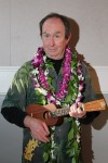 Newly retired Mr. Jackson has plans to take up the ukelele and travel to Hawaii as much as possible!